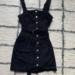 Black Denim H&M Mini Dress